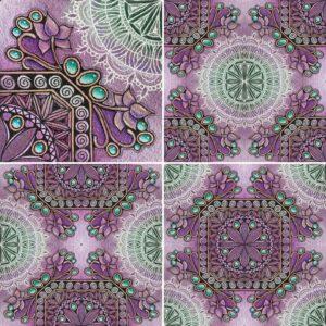 Zentangle Drawings Zen Linea