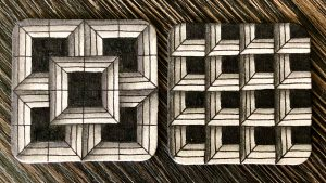 Reticula and Fragments Zentangle