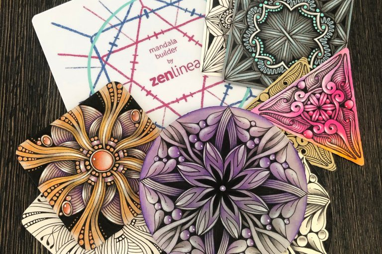 Zentangle Inspired Mandala Designs
