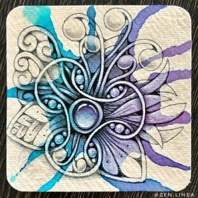 Zentangle Drawing
